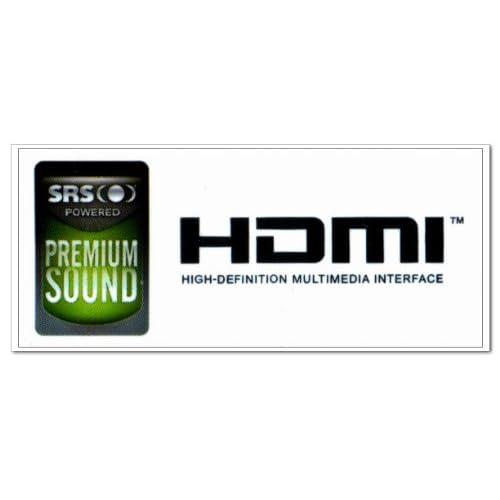 Amazon.com: SRS POWERED PREMIUM SOUND HDMI Logo Stickers