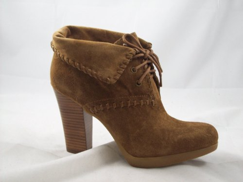 Enzo Angiolini 'Andre' Laceup Ankle Boot (9 B(M) US, Natural Suede)