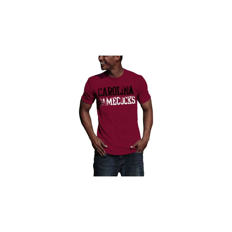 NCAA South Carolina Gamecocks Literality Vintage Heather Tee Shirt