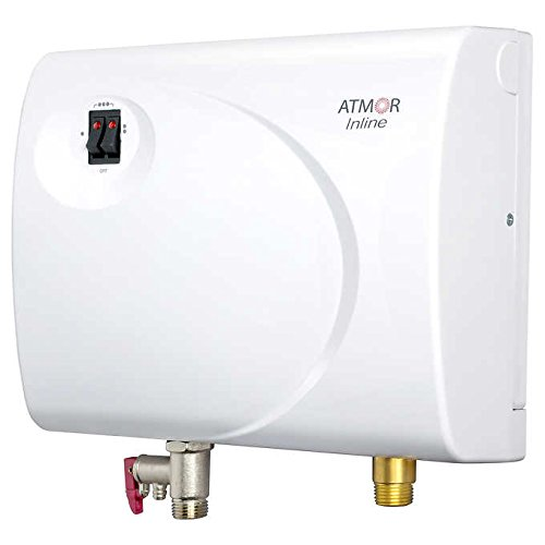 Atmor AT-S901-03 Tankless Electric Hot Water Heater, White (Color: White, Tamaño: 3kW/240V)