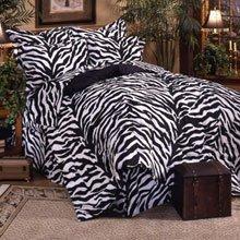 Black Zebra Bedding