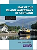 Jane Cumberlidge Map Inland Waterways of Scotland