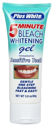 Plus White 5 Minute Speed Whitening Gel Formulated