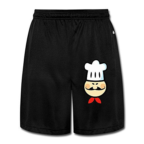 lunacp-mens-chef-chefs-cook-cooking-food-cartoon-funny-performance-shorts-sweatpants-l-black