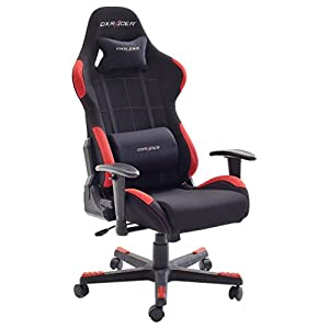 Robas Lund DX Racer 1 Chair, Gaming Chair, Office Chair, Black Red