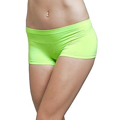 S. Girl Women's Stretch Seamless Exercise Dance Yoga Mini Bike Shorts Briefs Spankies