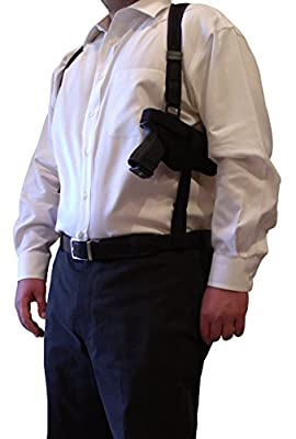 Tactical Shoulder Holster for Ruger SR9c SR9 SR40c SR40 SR45 SR22 and SR1911
