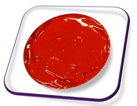 online-hut 5ml Acrylmalfarbe Blood Red
