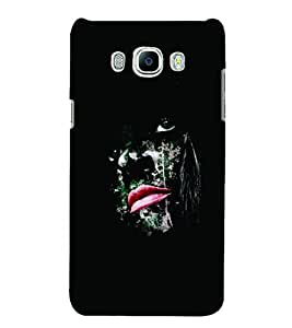 PrintVisa Cool Boy Modern Art Face 3D Hard Polycarbonate Designer Back Case Cover for SAMSUNG GALAXY J5 2016 Edition