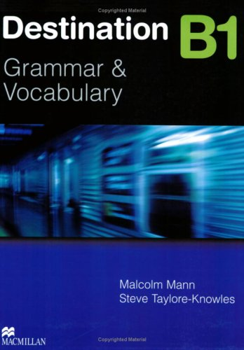 Destination B2 Grammar and Vocabulary with Answer