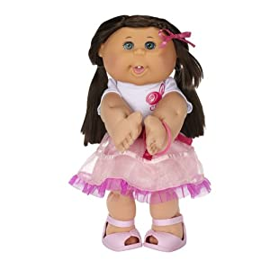 Cabbage Patch Kids Brunette Girly Girl