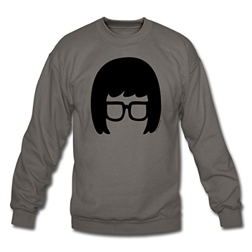 Bob's Burgers - Tina Crewneck Sweatshirt by Spreadshirt™, S, asphalt