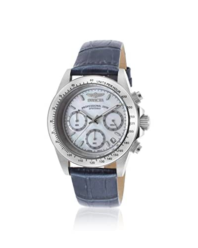 Invicta Women's Speedway Blue/White Stainless Steel Watch