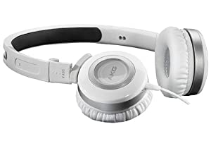 AKG K430WHT Foldable Mini Headphones, White