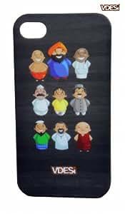 VDESI Back Cover For Apple iphone 4/4S -V United (V11862)