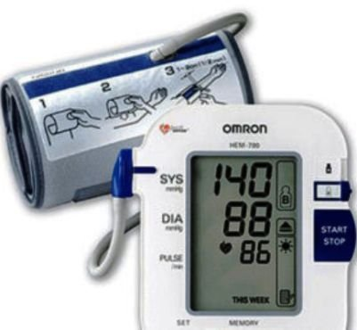 Cheap Omron Premier Automatic Blood Pressure Monitor with ComFit Cuff BP755 (BP755)