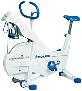 Amazon.com : Monark Exercise AB 874E Weight Ergometer : Exercise Bikes