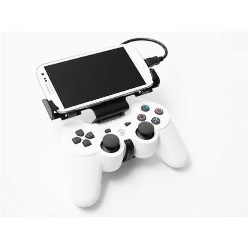 Gameklip Controller Mount For Samsung Galaxy S Iii/Iv - Retail Packaging - White
