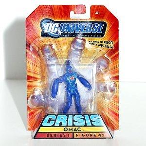 Buy Low Price Mattel DC Universe Infinite Heroes Crisis Series 1 Action Figure #42 Omac (B0028YYP8Y)