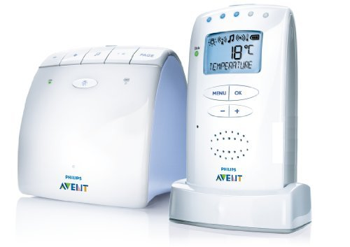 Philips AVENT SCD525/00 DECT Eco Baby Monitor (with Temperature Sensor)