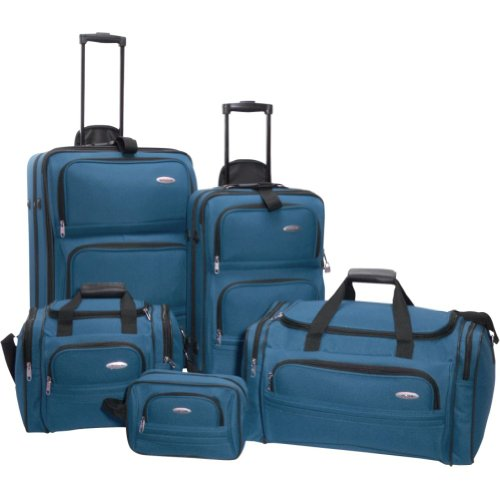 Samsonite 5-Piece Travel Set Luggage (Teal Blue