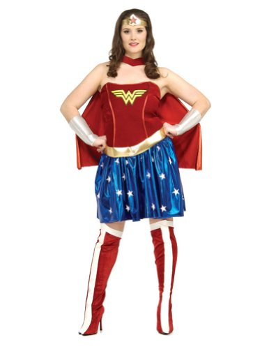 Wonder Woman Plus Size Halloween Costume - Adult Plus