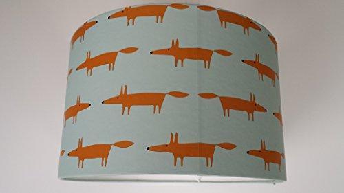 lampenschirm-aus-little-fox-spirit-soul-scion-blau-tapete-harlequin-plastik-blau-35cm-x-35cm-x-22cm