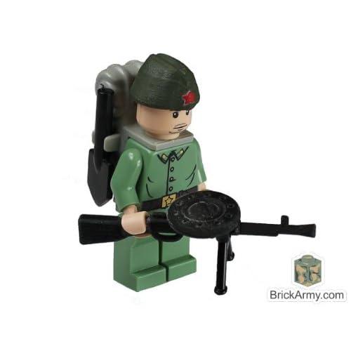 Amazon.com: Custom LEGO® Military Minifigure - WWII Russian Soldier