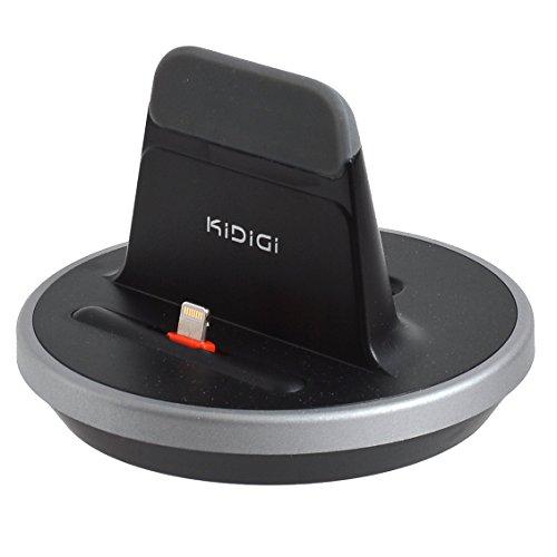 サンコーレアモノショップ 肉厚ケースカバー対応充電スタンド for iPhone/iPad (ブラック)