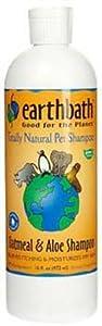 Earthbath All Natural Dog Shampoo, Oatmeal & Aloe, 16 oz