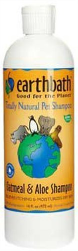 Earthbath All Natural Oatmeal and Aloe Shampoo, 16-Ounce