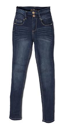 (MI1933) Dollhouse Juniors High Waisted Stretch Denim Skinny Jeans in Mila Size: 13
