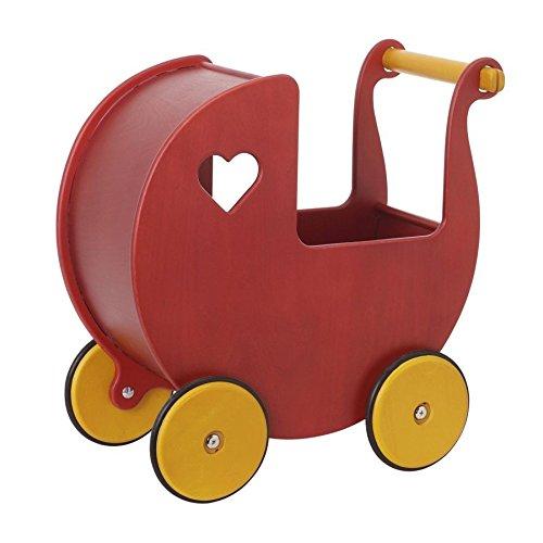 HABA Moover Mini Doll Pram, Red