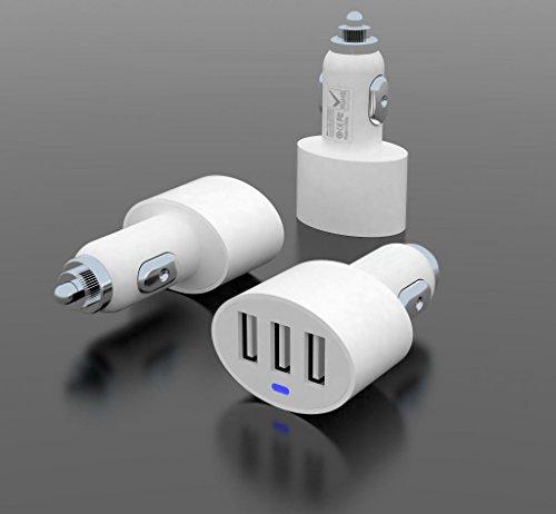 Chargeur-allume-cigare-USB-3-Excellent-Value-Trois-Port-USB-21a-10a-et-10a-Ports-de-charger-simultanment-trois-appareils-compatible-avec-tous-les-Apple-Android-Tablets-tlphones-et-appareils-etc-Y-comp