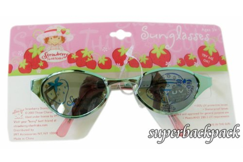Strawberry Shortcake Blue Metal Framed Sunglasses