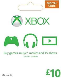 amazon xbox live gift card