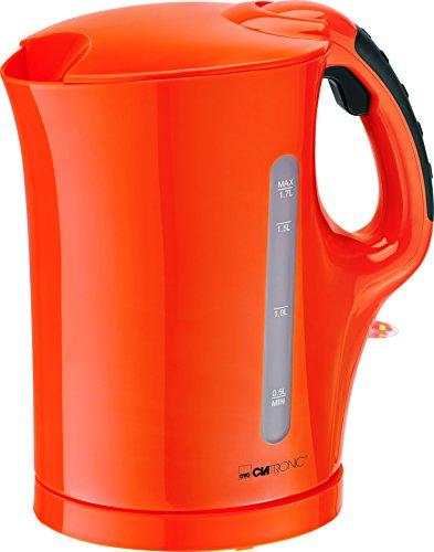 Clatronic WK 3445 Wasserkocher, orange