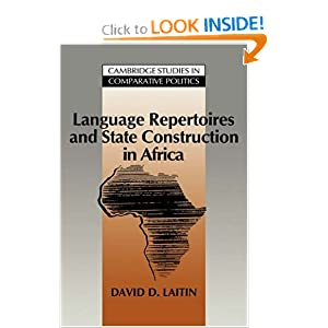 Book : Language Repertoires and State.