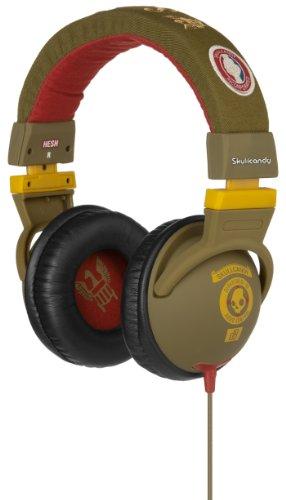 Skullcandy Hesh Headphones w/Mic - 2011 Scout Rasta w/Mic (2011 Color), One Size