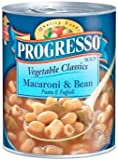 Progresso Vegetable Classics Macaroni & Bean Soup 19 oz
