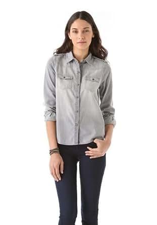 Joe's Jeans Women's Western Braid Shirt, Vania, Large