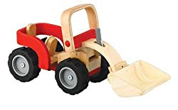 Plan Toys Plan Activity Bulldozer Vehicle