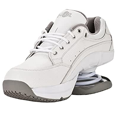 z coil s legend slip resistant white leather tennis