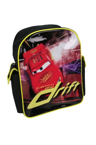 Trade Mark Collections Disney Cars Drifting Evolution Backpack with Side Pockets