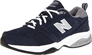 New Balance - Mens 623v2 Cushioning X-training Shoes, UK: 11.5 UK - Width 4E, Navy with Grey & White