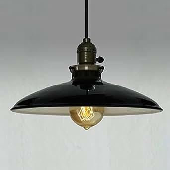 Vintage Pendant Light Plma07 Ceiling Lighting Black