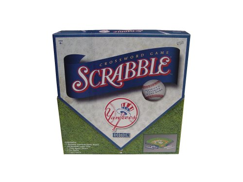 New York Yankees Scrabble® - Buy New York Yankees Scrabble® - Purchase New York Yankees Scrabble® (Sababa Toys, Toys & Games,Categories,Games,Board Games,Word Games)