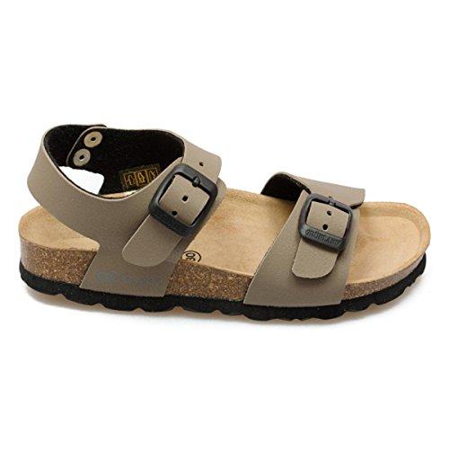 Grunland Luce unisex bambino, pelle liscia, sandali, 24 EU