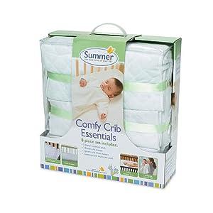Amazon.com : Summer Infant Comfy Crib Essentials 8-Piece ...