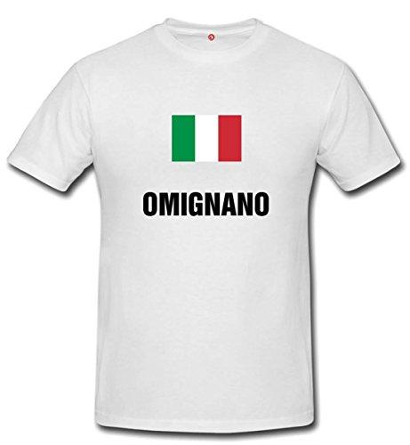 T-shirt OMIGNANO - Comuni Italiani bianco